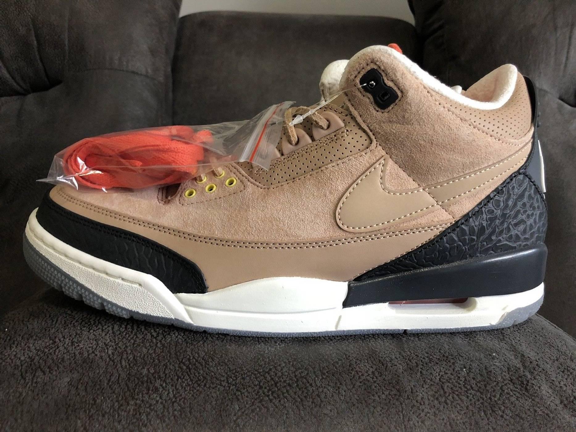 super popular d43ef 55f02 Nike Air Jordan 3 Vintage JTH Bio Beige NRG Tinker Hatfield ...