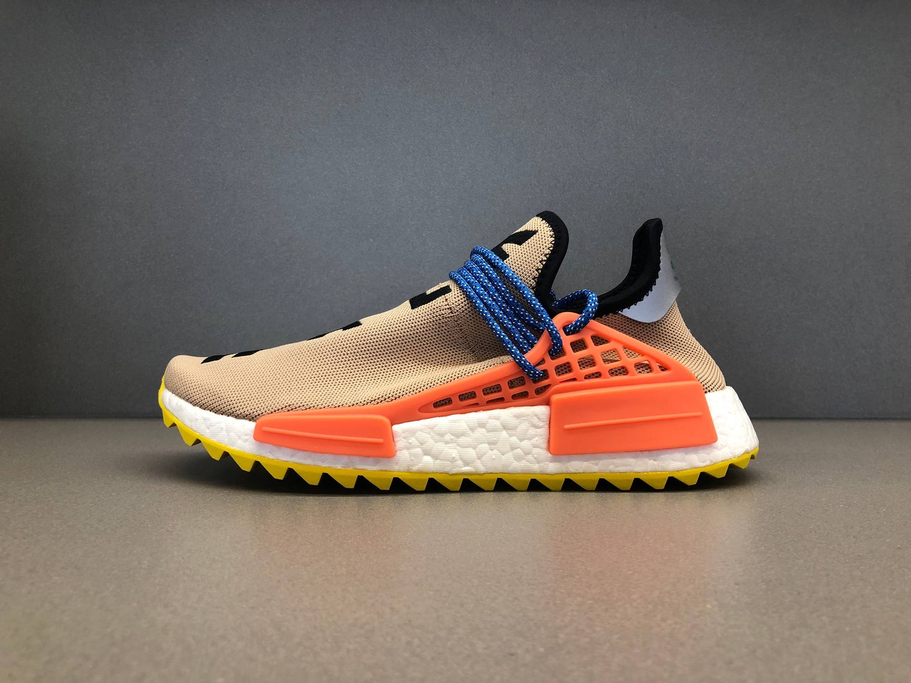 best cheap 6e13b 636be Adidas pw human race nmd tr Pharrell trail pale nude