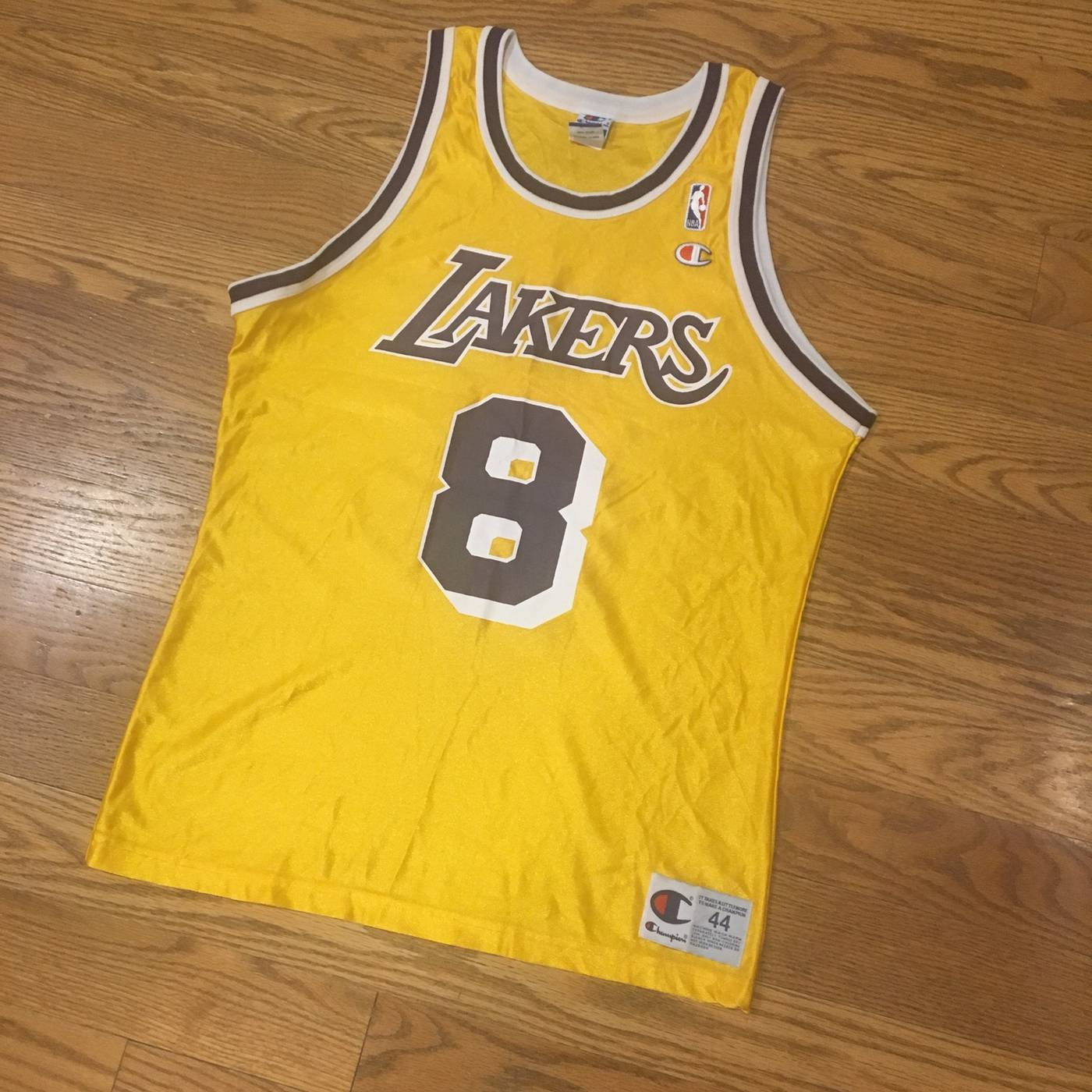 quality design acd31 d2ded Vintage Vintage Champion Los Angeles Lakers Kobe Jersey Size ...