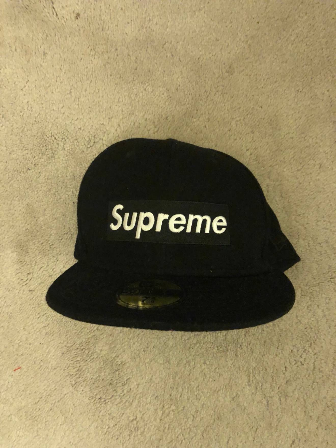 857585ead1f ... low cost supreme supreme new era hat size one size 2130c d5168