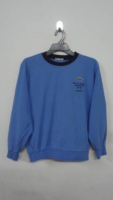 Neck Crew Sweatshirt Lacoste Sportswear Streetwear Vintage wnqxXU4YOf
