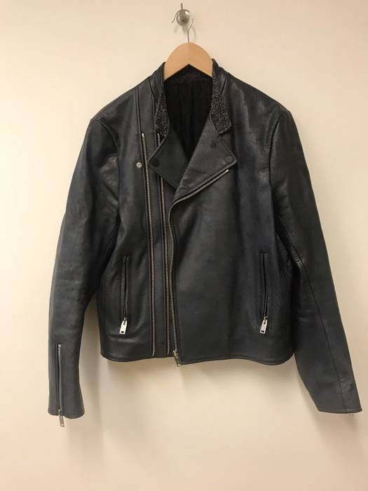 Biker Buffalo Leather Size Balenciaga Jacket Size50 M REqnW08T