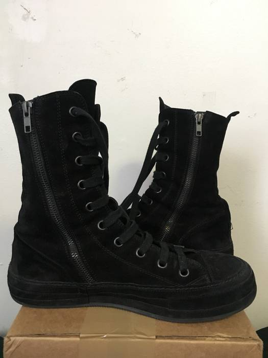 Ann Top Hi 9 D Suede Black High Size Demeulemeester 6Yfbgy7