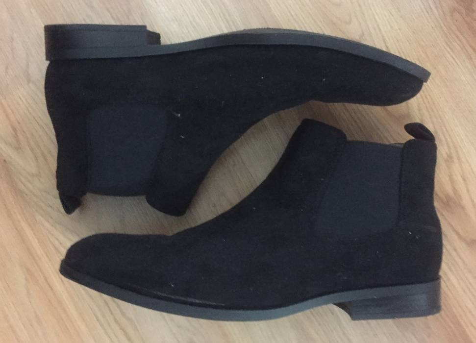 separation shoes e173f a9010 Grailed Black 11 Sale For Size amp m Suede 5 H Chelsea Boots v45nZxf