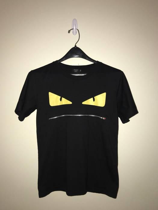 For Size Short Shirt Zipper Sleeve Fendi Tee Sale M Shirts T qWAzBBcI