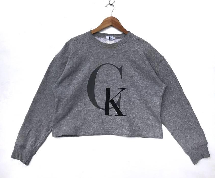 Klein Calvin Croptop M Size Sweatshirt Sweatshirts g188dWZrqw