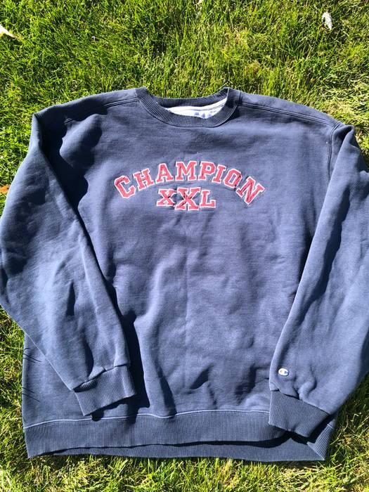 Long Size T Vintage 90s Champion Sleeve For Shirts Crewneck Xl qRwSCWOw