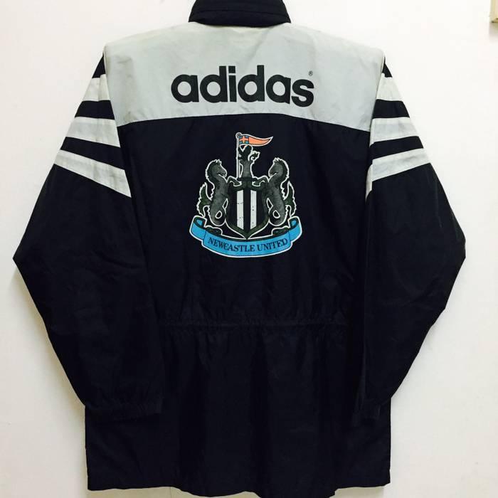Football Vintage Newcastle Rare Adidas United Fc q4E66a