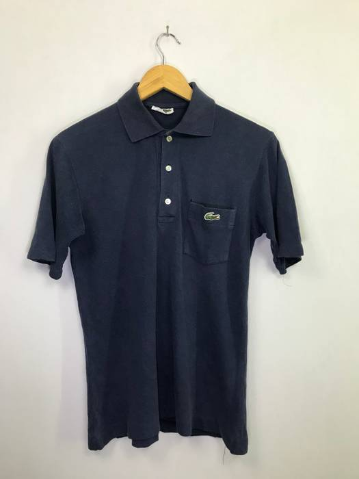 In Shirts Made Single Polos Chemise Japan Lacoste Vintage RnX7qTp7