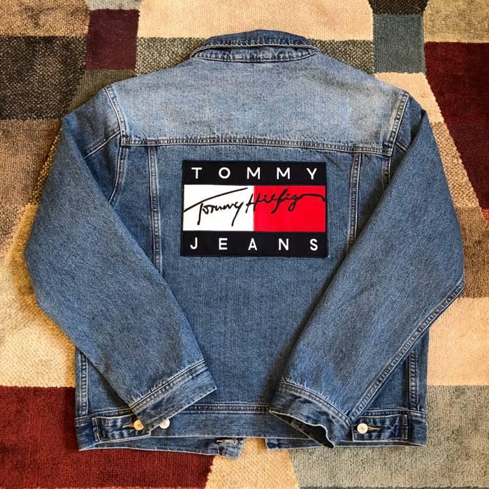 Yqypd7 Tommy Hilfiger Jacket 90s Denim wIqfS1UrI