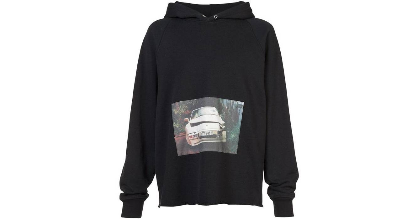 Hoodie Black Porsche Riches Erd Final Us Bump Car Enfants Rare Deprimes Size L Crashed w84qZIR