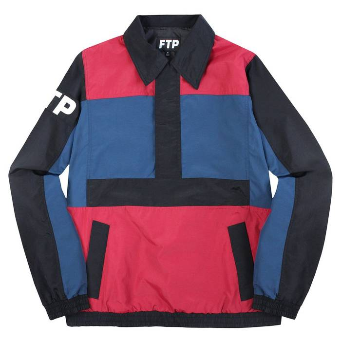 FTP l Fuck Population Block Multicolor Jacket Track Color The Size PEgw4q
