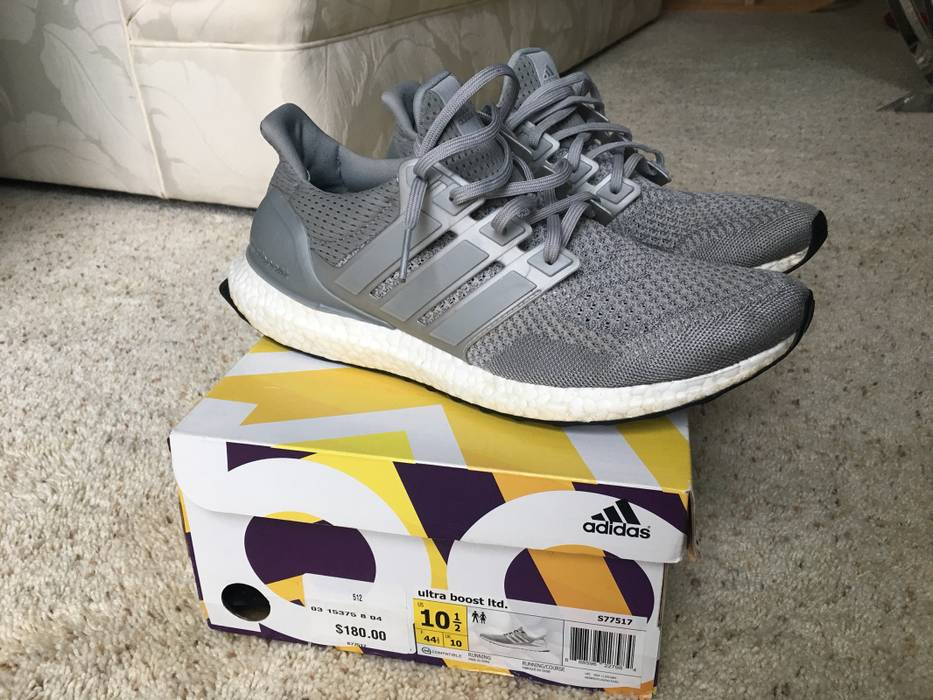 10 Silver Ultra 43 44 Eu Us Adidas Size Ltd 5 Metallic Boosts BwnqZSF