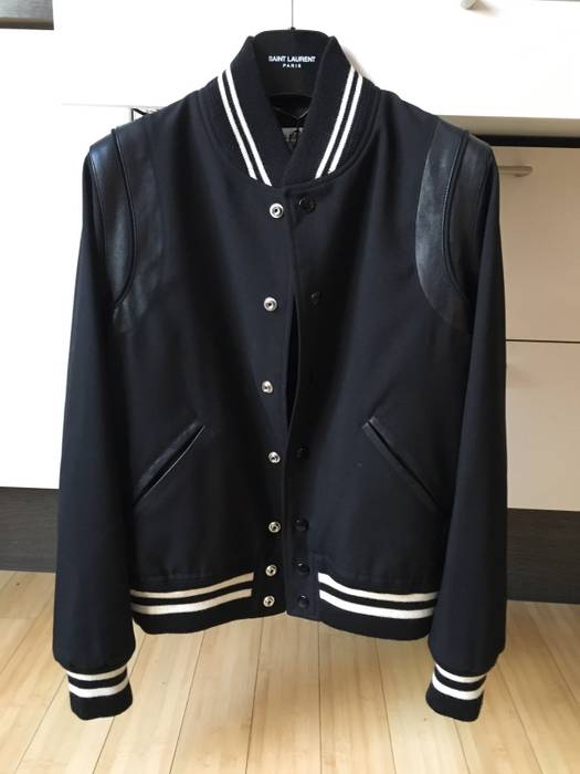 Jacket Saint Laurent Man 42f Teddy S Bnwt Size Paris Slp 46 qaHwFPaB