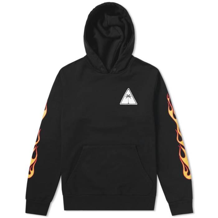 Palm Printed Angels Sweatshirt S Size qR7qOnH