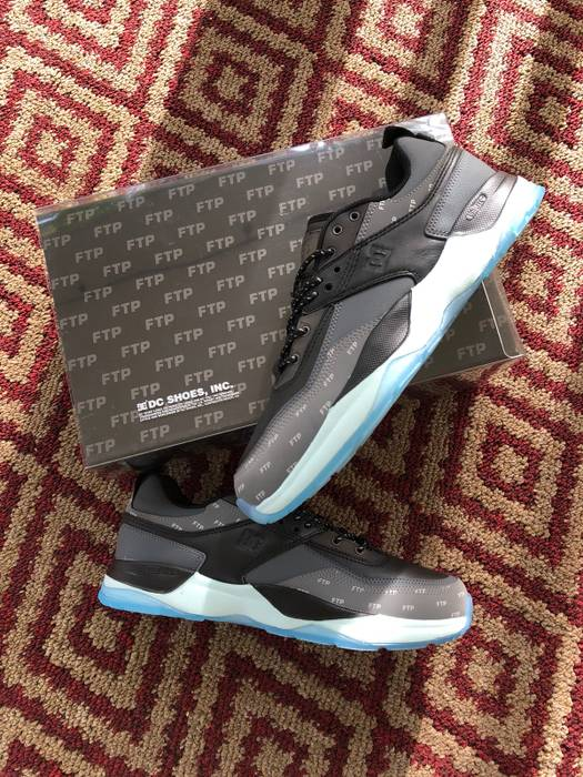 FTP EU Shoes x Tribeka 10 US Size E 43 Black DC Dc FqaSBwpp