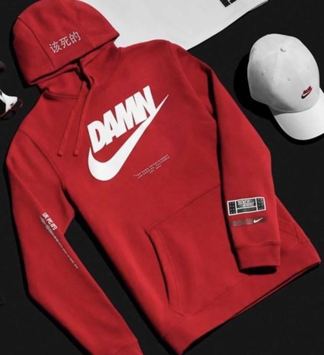 """damn Tde X Wauz8 Collab Nike Red RnTHaa"