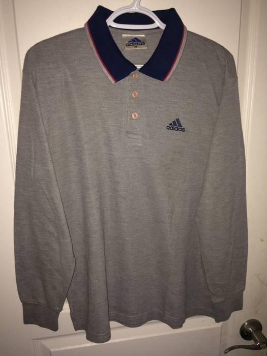 Size Polo Polos Vintage Adidas Shirt For Sale Ls M Grailed qAIxSnP