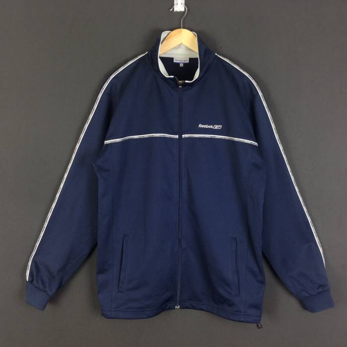 Sportswear Reebok Jacket With Sweater Stripe Vintage rrgTOf