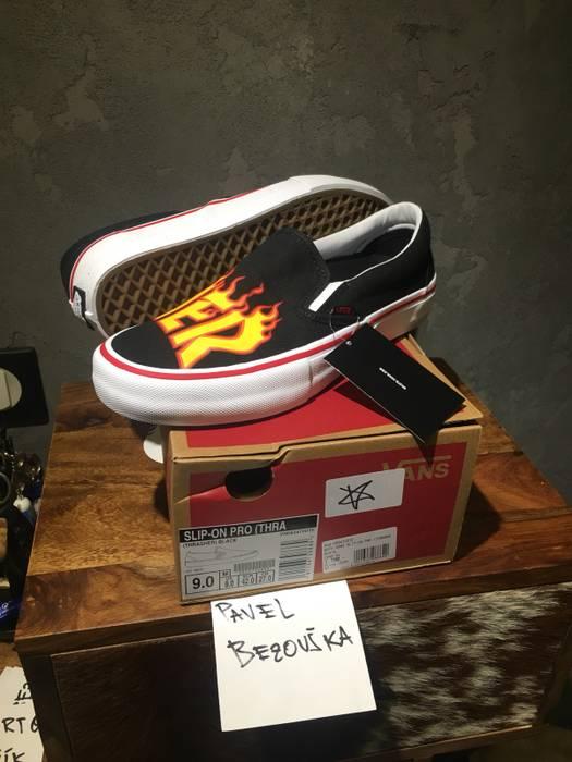 9243503ac2ea X Sale Thrasher Pro Size Slip Ons Grailed 9 On Vans For R1qtBywq