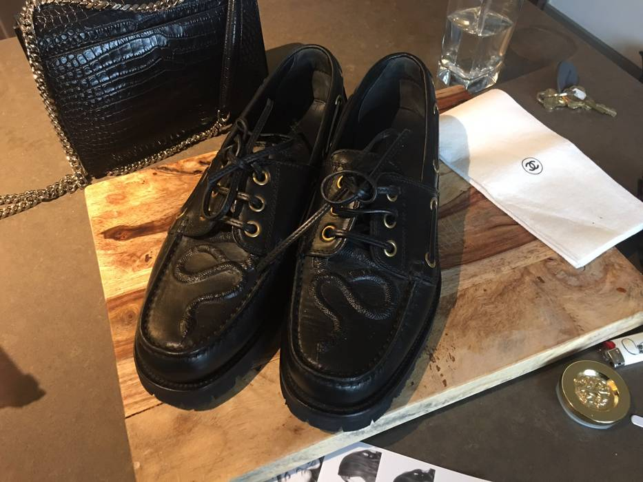 30de0b5edfb Snake Gucci Casual Grailed Shoes Leather Boat For 11 Size Sale dpqpAwx