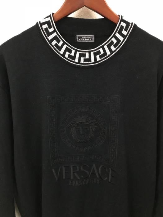 Sudadera bordado Talla L Versace Medusa Couture 52 Gianni Jeans Nos Eu 6ZWTq