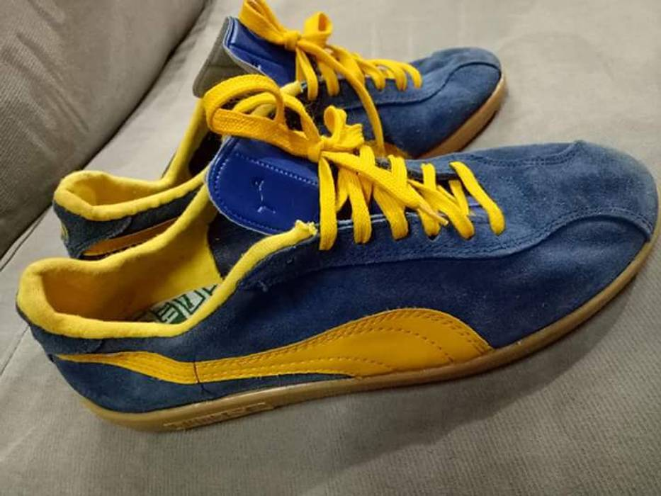 Rare Sneakers Italy Puma 9 Vintage Bluebird Uk8 5 80s Size XwkZiPuOTl