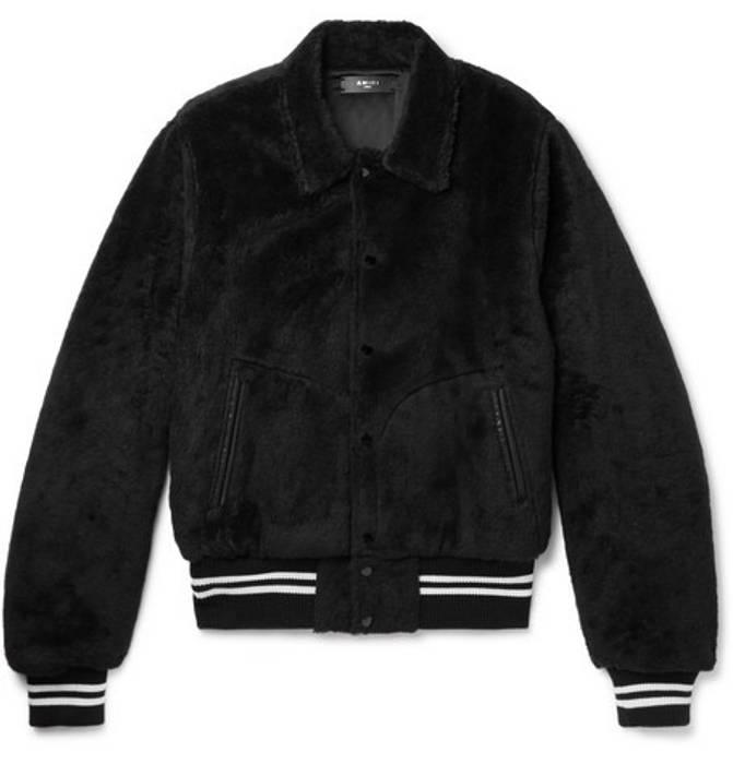 Sale For Band Sherpa S Size Amiri Black Grailed Jacket Bombers OZ8wx6