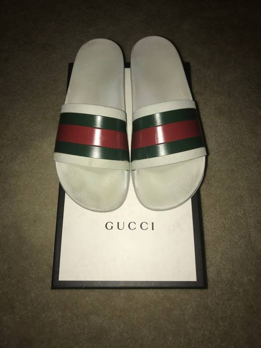 47b560839a78ee Gucci Gucci Slides Sz 10 Size 10 - Sandals for Sale - Grailed