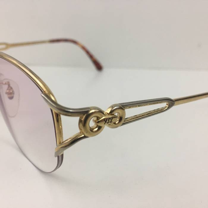 5b818d6e4b Yves Saint Laurent 14K Gold Plated Quavo Style Glasses Size one size ...