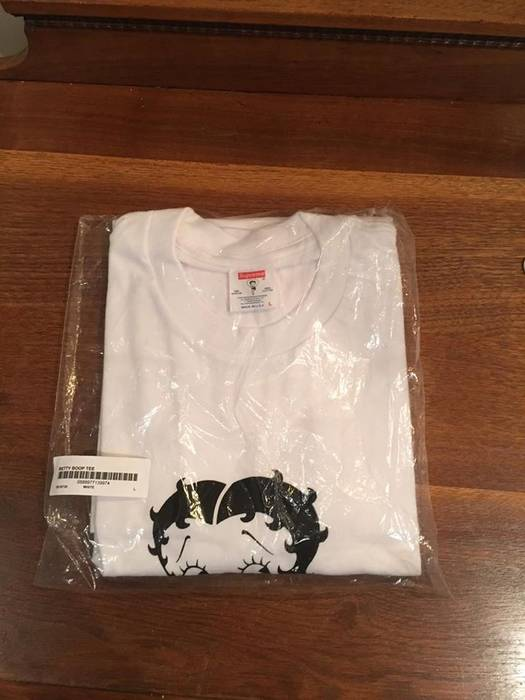 32f21c2ac536 Supreme Supreme Betty Boop Tee Size L White Size l - Short Sleeve T ...