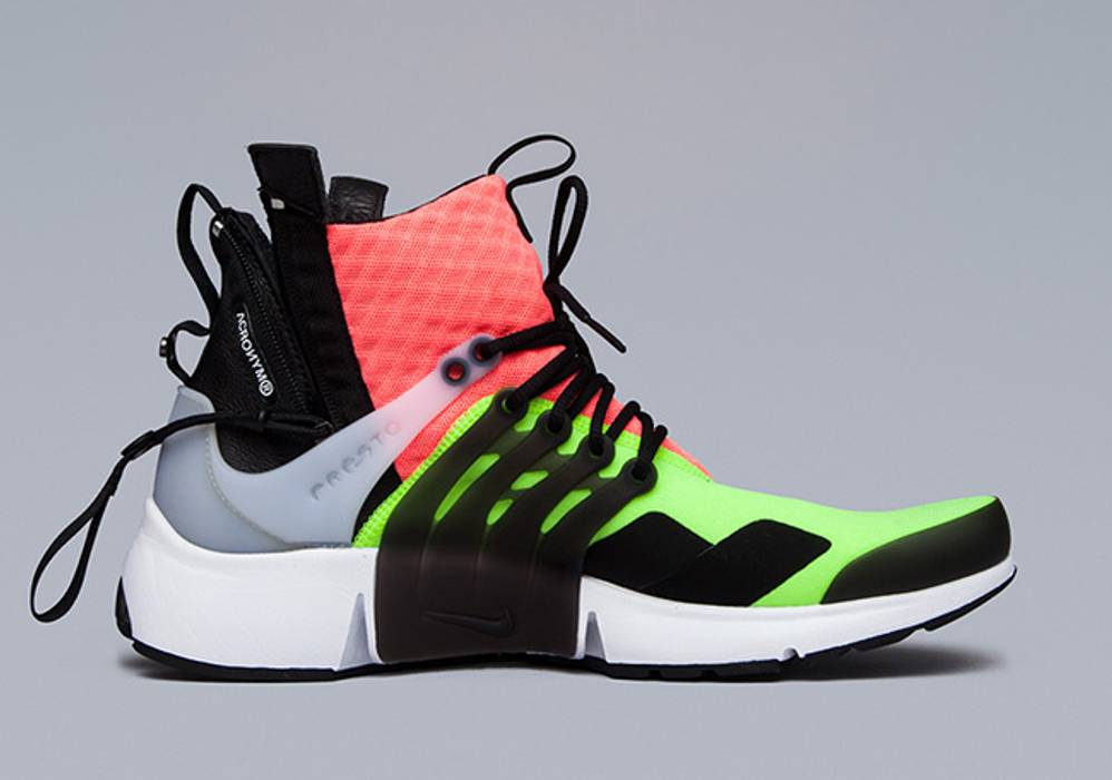 quality design e696f a3c26 ... Nike ACRONYM x NIKE AIR PRESTO MID LARGE HOT LAVA VOLT DEADSTOCK with  BOX Size US ...