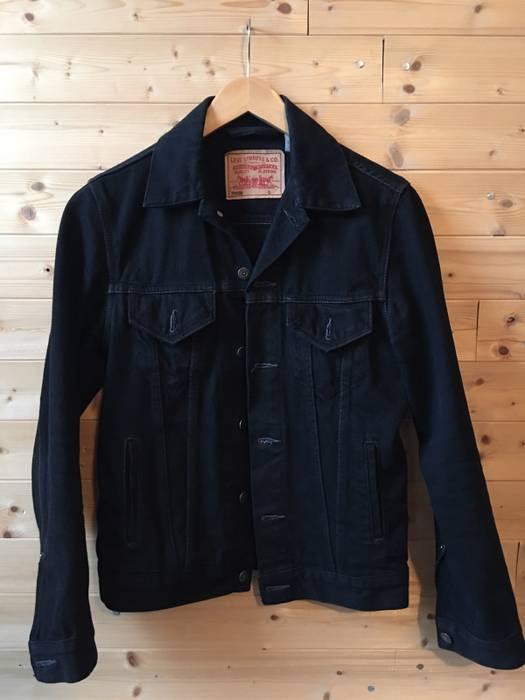Levi S Vintage Clothing Levi S Black Denim Jacket Red Tab Size S