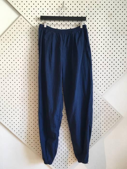 Nike vintage nike joggers navy blue nylon wind pants large Size US 32   EU  48 a85f73a36