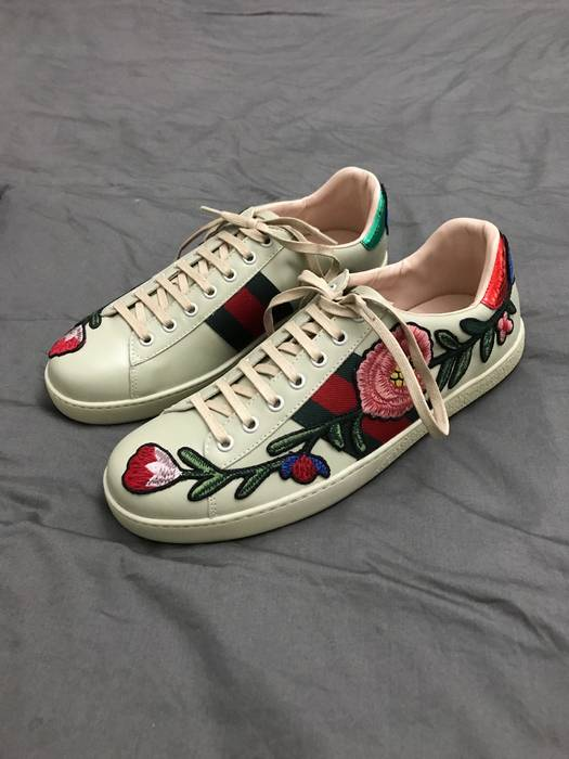 39c5860dcd2 Gucci Gucci Floral Ace Low Sneakers Size 11 - Low-Top Sneakers for ...