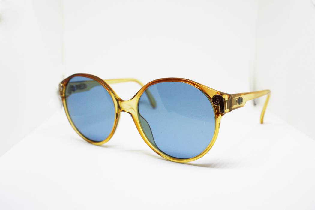 02c17a741e Dior Christian Dior sunglasses caramel cello frame with adorned temples