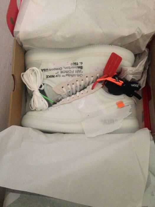 e310a27f28bb Nike Nike Air Force 1 X OFF-White X Virgil Abloh - US9 Size 9 - Low ...