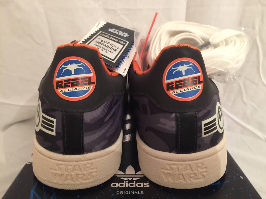 Adidas NEW IN BOX 2011 Adidas Originals SUPERSTAR II S.W. STAR WARS ROGUE  SQUADRON Rebel Alliance 79ddc5fd27