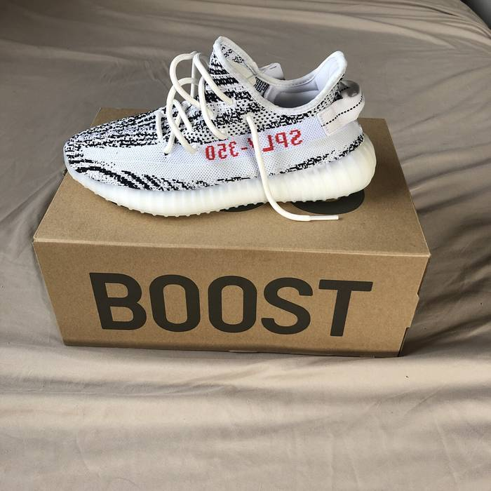 02e8e29f2 Adidas Adidas Yeezy Boost 350 V2 Zebra Ds Size 9 - Low-Top Sneakers ...