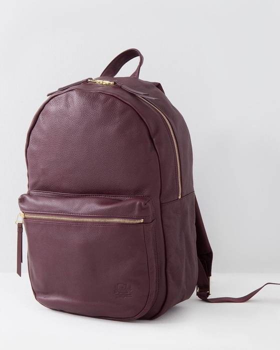 9304969819d9 Herschel Supply Co. Herschel X Bad Hills Leather Backpack. Size  ONE SIZE