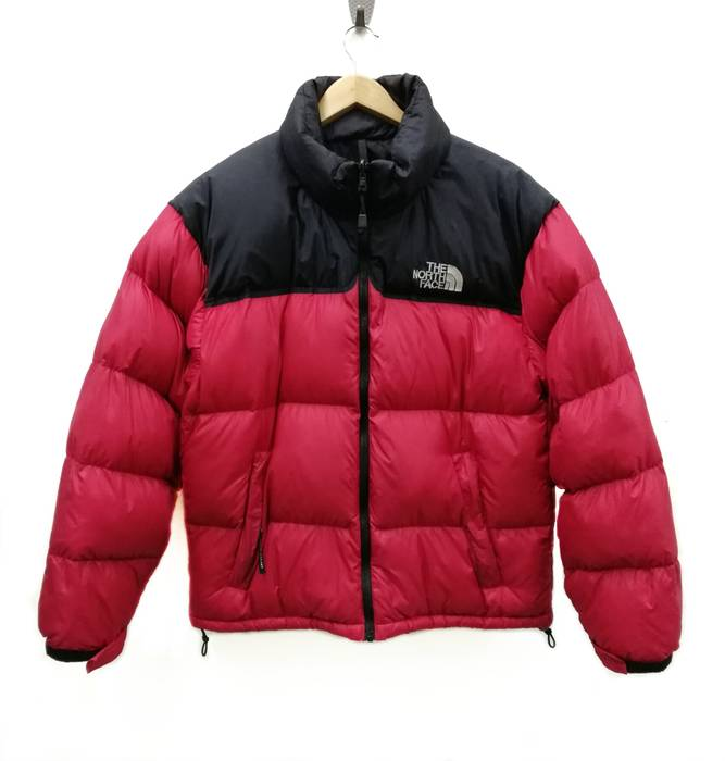 9af35a1e1a The North Face. The North Face Nuptse 700 Goose Down Puffer Red Black Jacket  ...