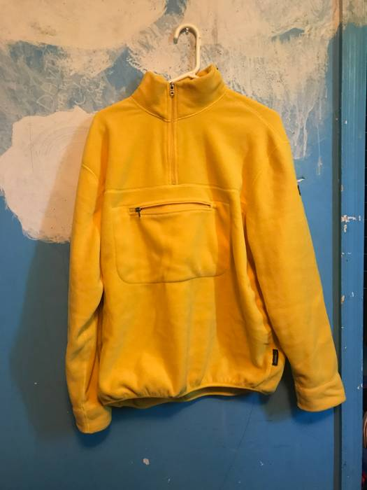 Polo Ralph Lauren Vintage polo sport yellow fleece Size m ... 4d27dce580cdc