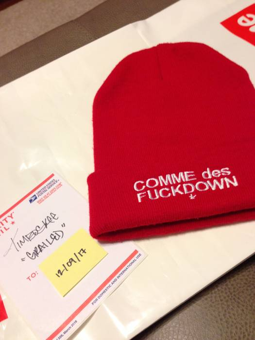 7e0b6301329 Ssur SSUR Comme des F ck Down Beanie Size one size - Hats for Sale ...