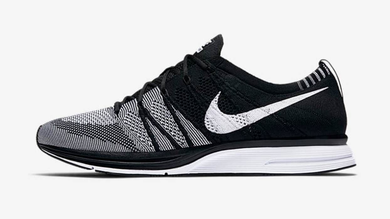 1e9e602e262c Nike Nike Flyknit Trainer Oreo - US 12 Size 12 - Low-Top Sneakers ...