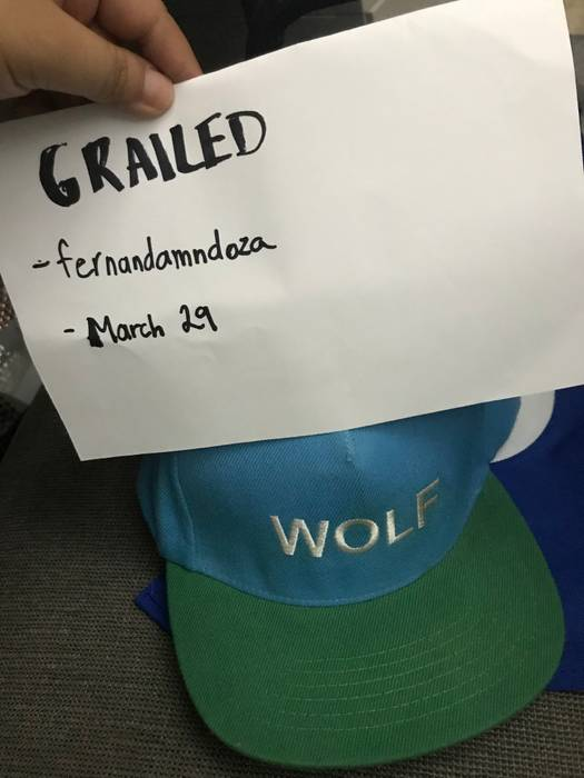 Tyler The Creator Wolf Snapback Size one size - Hats for Sale - Grailed dbf728866b13