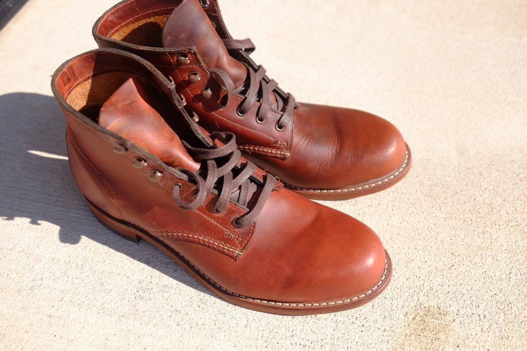 wolverine 1000 mile rust size 8 5 boots for sale grailed