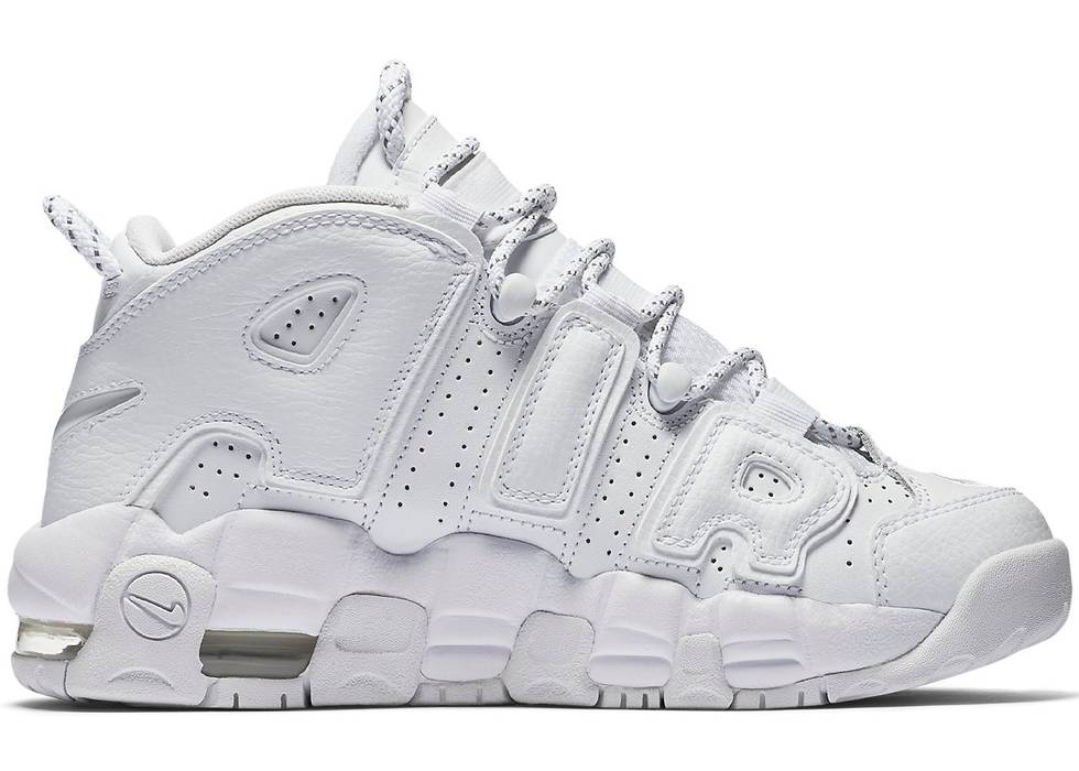 2114d26ec61d2 Nike Air More Uptempo Triple White Size 12 - Hi-Top Sneakers for ...