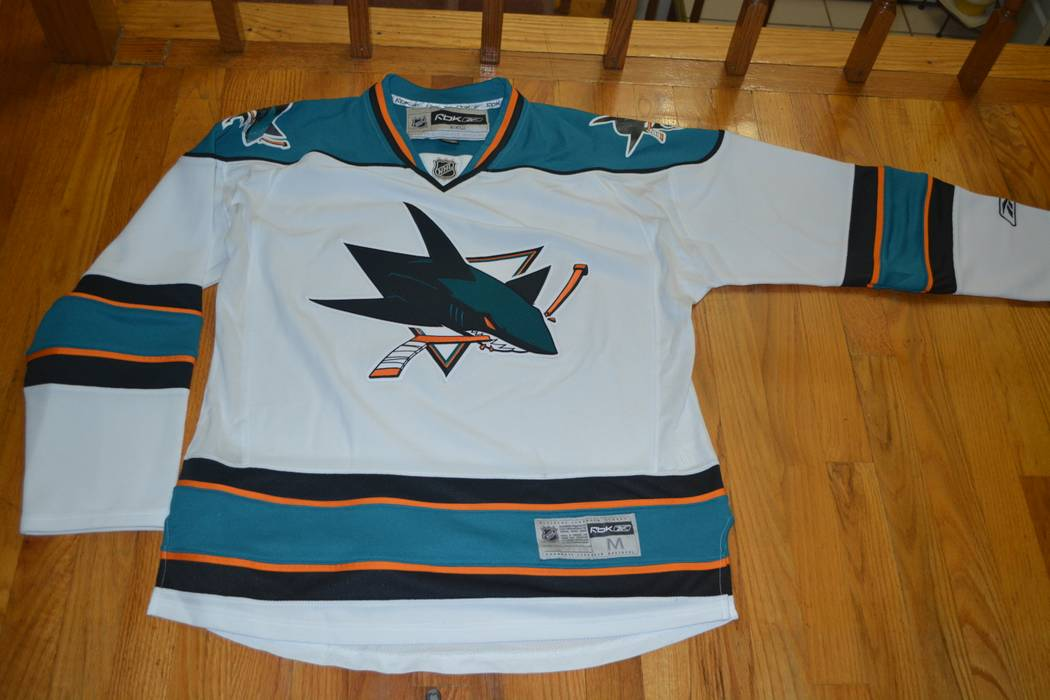 6ba7962c2 Reebok San Jose Sharks hockey Jersey Size m - Jerseys for Sale - Grailed
