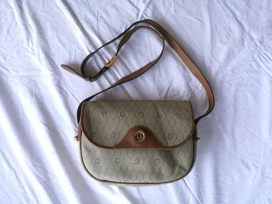 e5f3bdc15475 Dior Vintage 90s Shoulder bag Dior Sling bag adjustable monogram Size ONE  SIZE