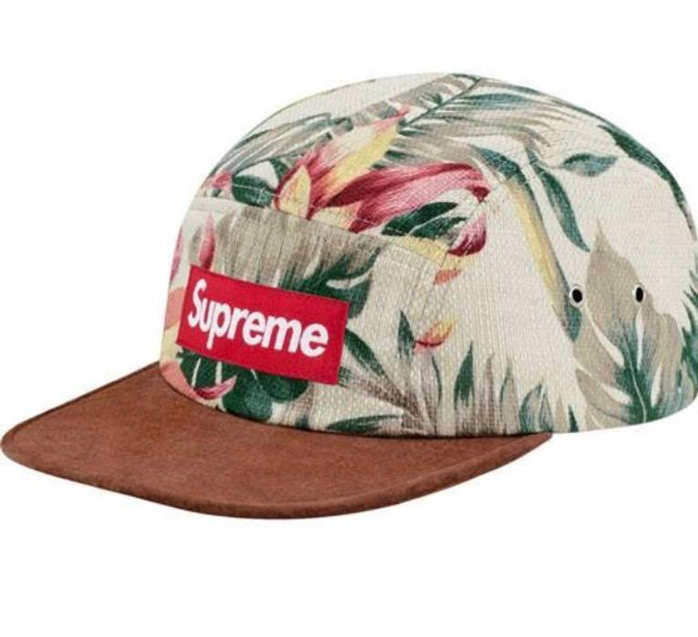 Supreme Supreme Floral Camp Cap 2012 Size one size - Hats for Sale ... 53906ec7341